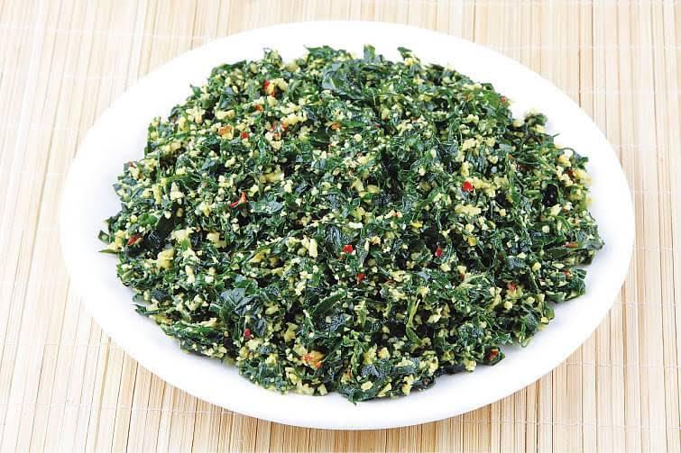 مصرف گیاه مورینگا-سالاد